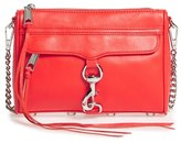 Rebecca Minkoff 'Mini Mac' Convertible Crossbody Bag - Red