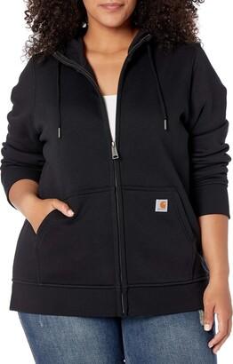 Carhartt Women's Clarksburg Full Zip Hoodie (Regular and Plus Sizes)