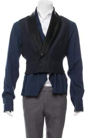 Haider Ackermann Layered Shirt Jacket