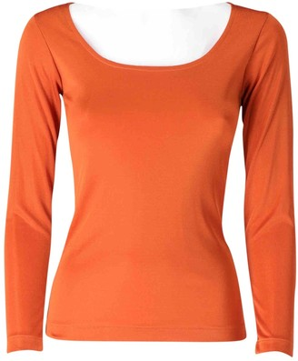 Saint Laurent Orange Synthetic Tops