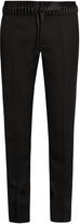 Haider Ackermann Lace-waist straight-leg wool trousers