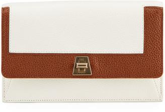 Akris Anouk Bicolor Envelope Clutch Bag