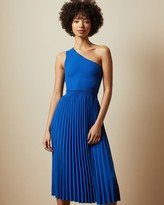 Thumbnail for your product : Ted Baker Asymmetric Knitted Midi Dress