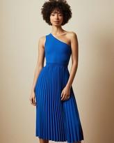 Ted Baker Asymmetric Knitted Midi Dress