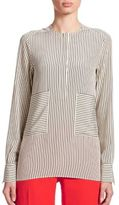 Altuzarra Carnegie Striped Silk Blouse