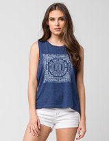 Element Paisley Womens Muscle Tee