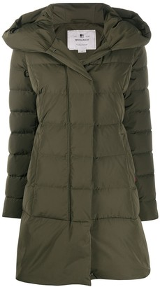 Woolrich Hooded Down Padded Coat