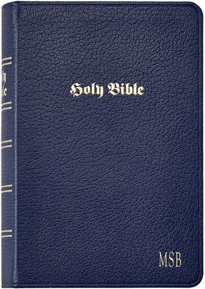 Graphic Image Leather Bible, Personalized