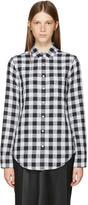 Rag & Bone Black and White Classic Gingham Shirt