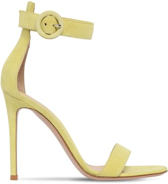 Gianvito Rossi 105mm Portofino Leather Sandals