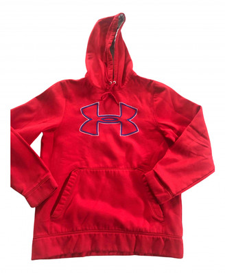 Under Armour Red Polyester Knitwear & Sweatshirts