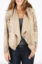KUT from the Kloth Floral Suede Jacket