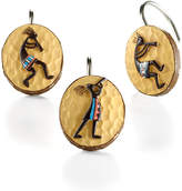 "Avanti Kokopelli"" Shower Curtain Hooks"