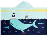 Pottery Barn Kids Whale Icon Kids Beach Wrap