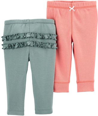 Carter's Baby Girl 2-Pack Cotton Pants