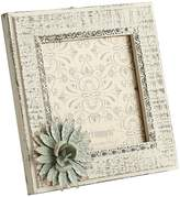 Pier 1 Imports Leila Blue Flower 4x4 Photo Frame