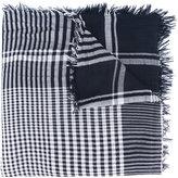 Faliero Sarti checked scarf - women - Polyester/Modal - One Size