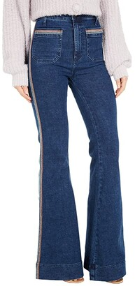 Show Me Your Mumu Farrah Trousers Flare in Sunset Strip (Sunset Strip) Women's Jeans