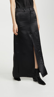A.W.A.K.E. Mode Pant Skirt With Side And Frontal Slits