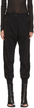 Haider Ackermann Black Perth Lounge Pants
