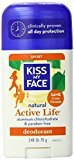 Kiss My Face Active Life Natural Deodorant, Sport, 2.48 Ounce Stick (Pack of 36) by Corp