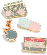 Celebrate Shop 4-Pc. Music Handbag Pin Set