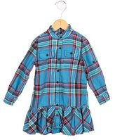 Ralph Lauren Girls' Plaid A-Line Dress
