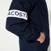 Lacoste Men's SPORT Water-Resistant Hooded Zip-Up Jacket
