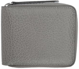 Maison Margiela Grey Zip Around Wallet