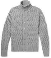 S.n.s. Herning - Stark Textured-knit Wool Cardigan