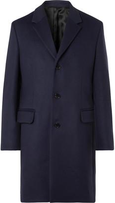 Acne Studios Melange Wool-blend Overcoat - Blue
