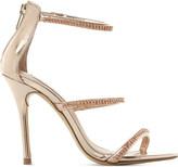 Steve Madden Wren-R metallic strappy sandals