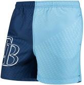 Trunks Unbranded Men's Navy/Light Blue Tampa Bay Rays Color Block Swim