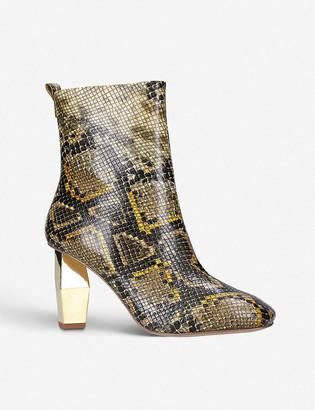 Kurt Geiger Daxon leather ankle boots