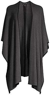 Eileen Fisher Women's Fringe Merino Wool Shawl