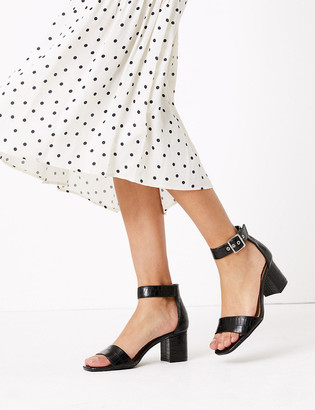 Marks and Spencer Ankle Strap Open Toe Sandals