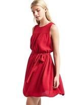 Gap Shirred swing dress