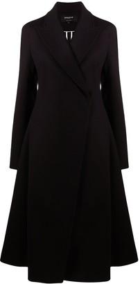 Rochas Flared Wool Coat
