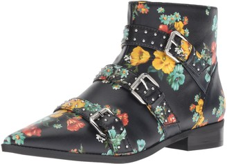 Nine West Women's Seraphim Leather Ankle Boot
