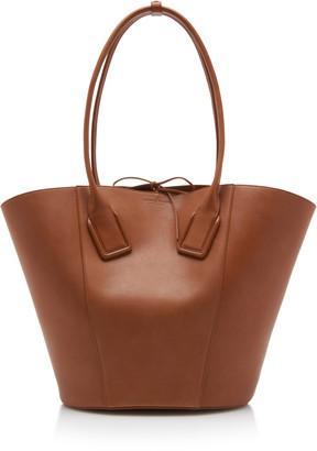 Bottega Veneta Leather Basket Tote