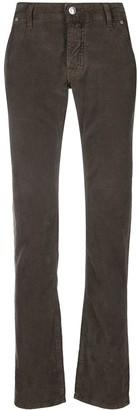 Jacob Cohen Pocket-Detai Straight-Leg Jeans