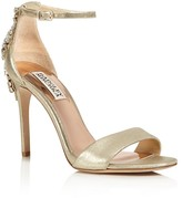 Badgley Mischka Bartley Embellished Ankle Strap High Heel Sandals