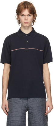 Paul Smith Navy Signature Stripe Polo