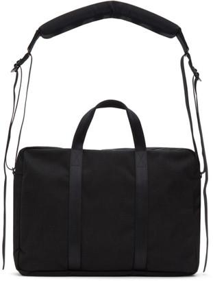 Comme des Garçons Homme Deux Black Porter Classic Edition Nylon Briefcase
