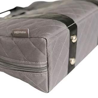 Manostiles Danish Design Changing Leather Bag, Grey