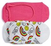 Women's Sockart 2-Pack Assorted Liner Socks