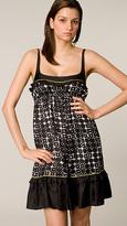Susana Monaco Mod Dot String Dress