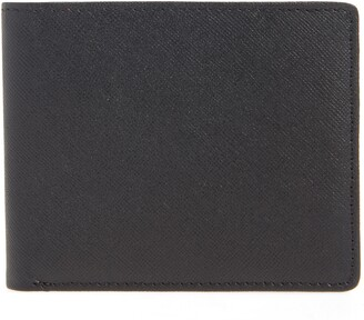 Nordstrom Saffiano Leather Slim Billfold Wallet