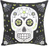 Essentials Tattoo Skull Throw Pillow