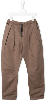 BRUNELLO CUCINELLI KIDS TEEN straight-leg trousers